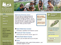 Wilderness Awareness School - Redesign